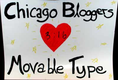 Chicago Bloggers Heart Movable Type