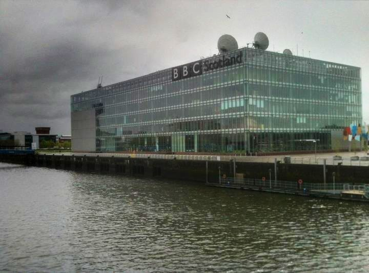 BBC Scotland, from the Millennium Bridge